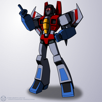 G1 Starscream by KrisSmithDW