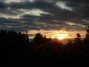 Cloudy Morning Sunrise