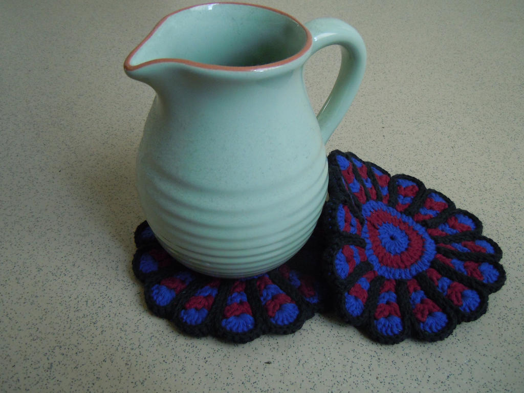 Flower potholder by mangoest
