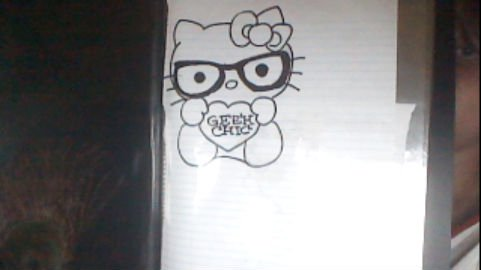 how to draw a nerd totorial