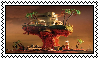 Plastic Beach stamp (F2U) by Luna-The-Fennec