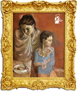Pablo Picasso (Mother and Child, Acrobats)