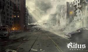 Destroyed City, streetview - Ritus