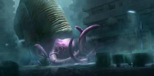 Giant Snail - City