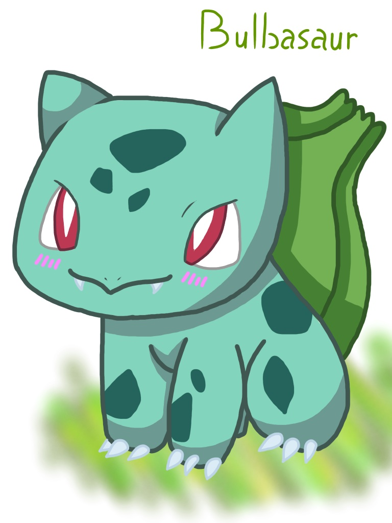 Pokemon 1 Bulbasaur 458366697