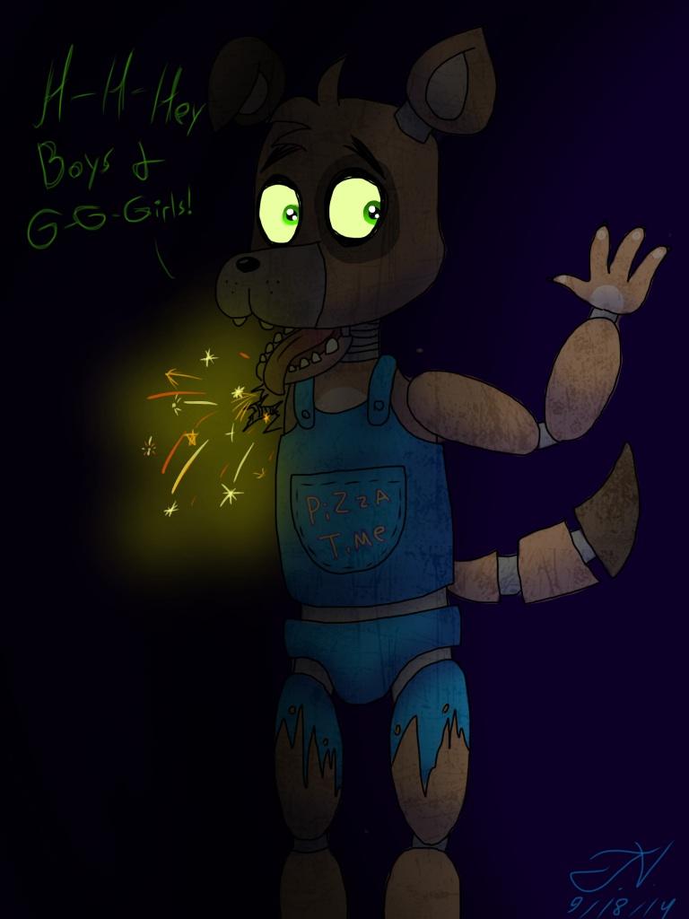 Sparky the party dog by trinitythewerewolf33 on deviantart