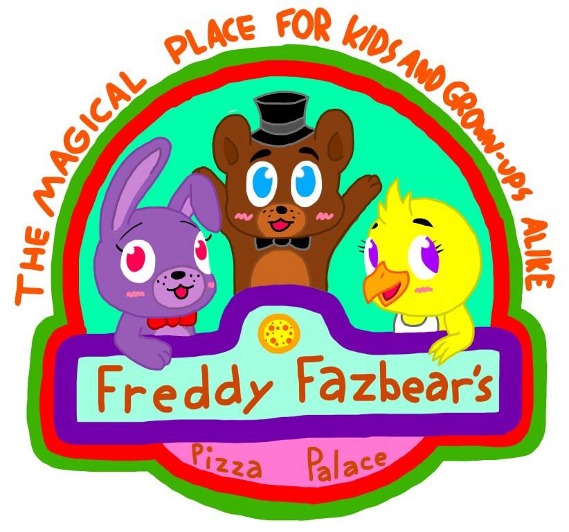 Freddy fazbear pizza logo freddy fazbears pizza palace