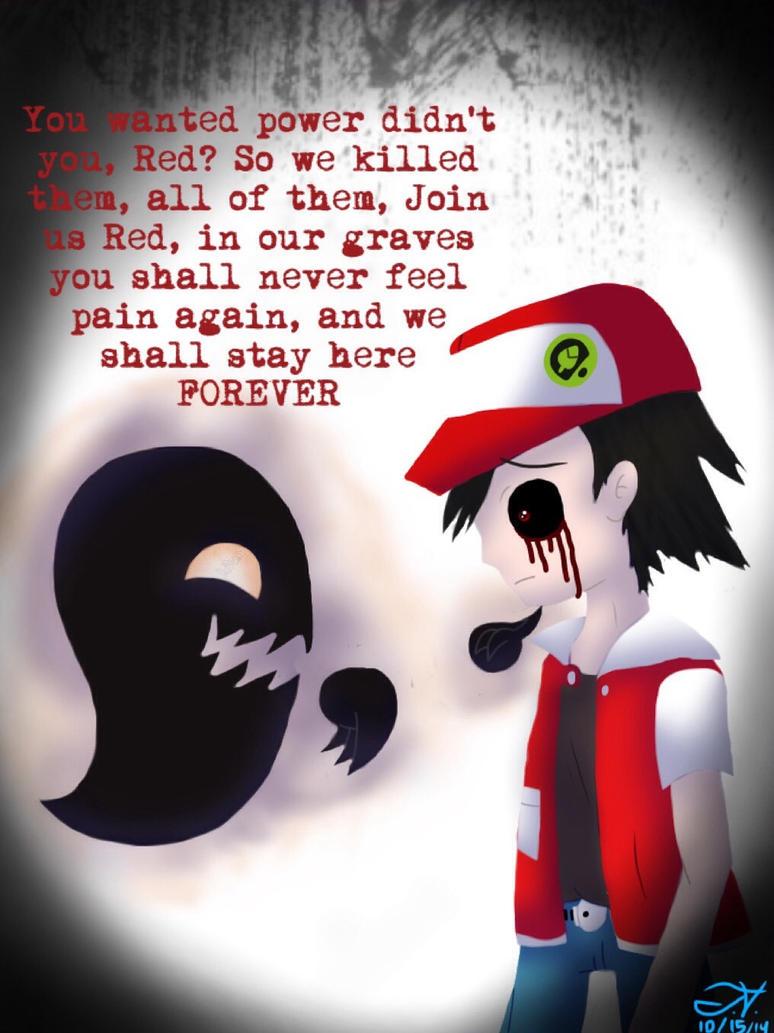 Pokemon Creepy Black Logo