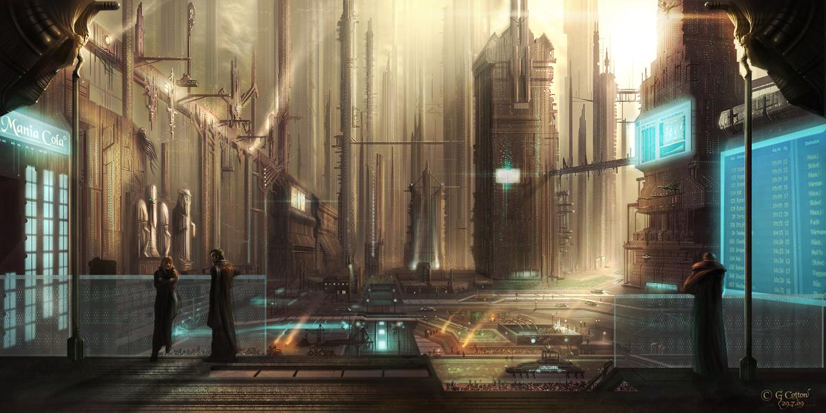 City: Crepusculix - Light by Xyrga