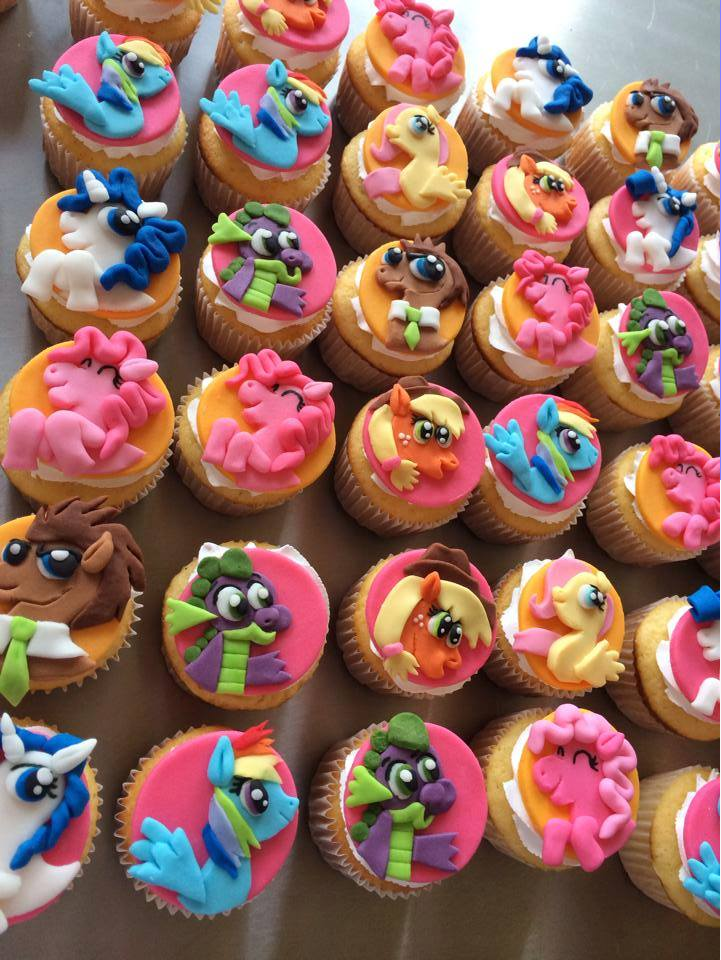 My Little Pony Cupcake Decorations