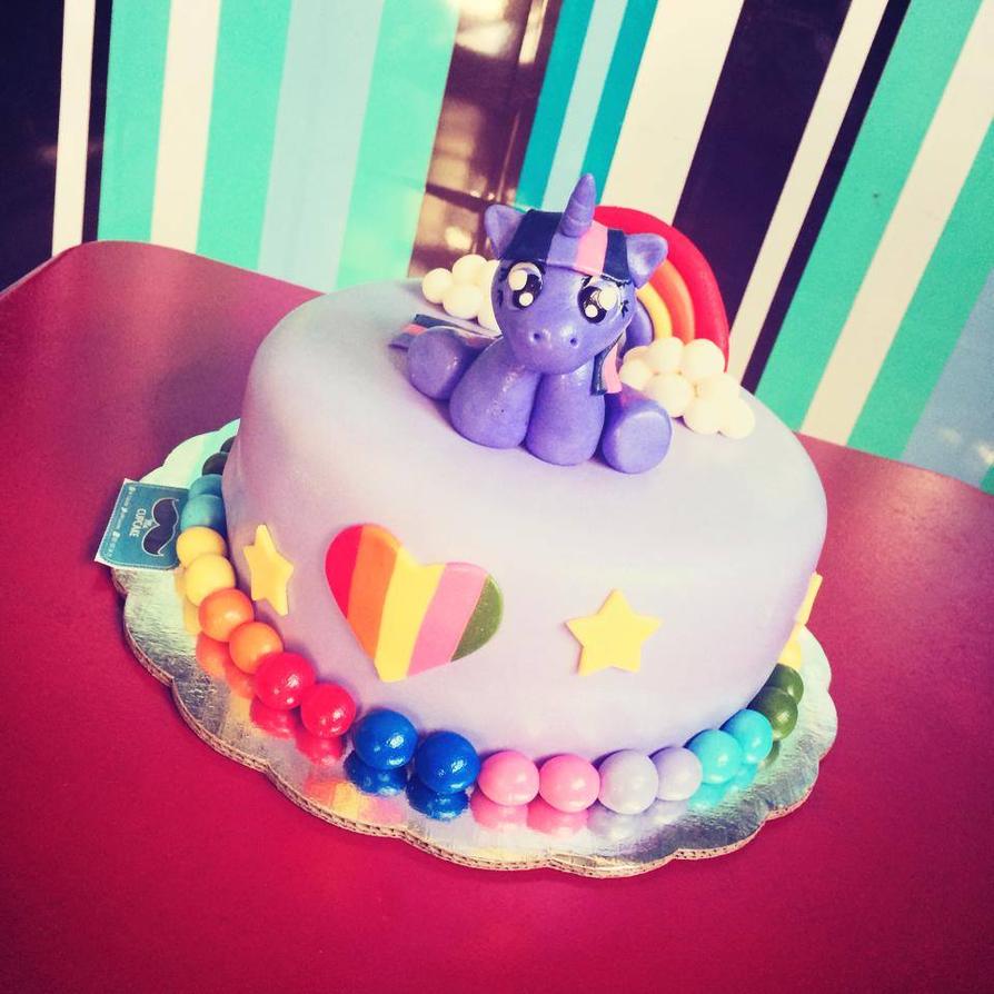 Twilight Sparkle Birthday Cake By Jarquin10 On Deviantart