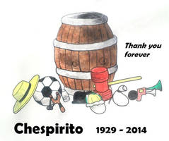 R.I.P.Chespirito, Thank you Forever by Jarquin10