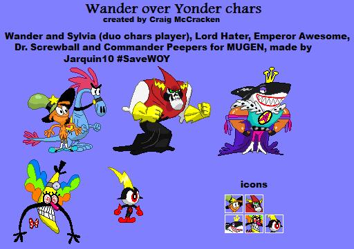 Wander over Yonder chars for MUGEN by Jarquin10 on DeviantArt