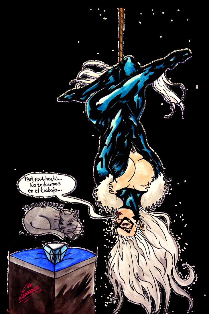 #090 Black Cat Felicia Hardy by Shkvivi on DeviantArt