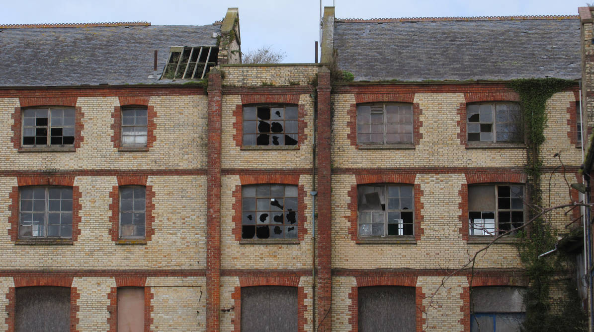 Abandoned Building Barnstaple 230319 by BlackFluffyRainbows