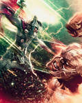 Ragnarok Fan Art, Thor vs. The Hulk