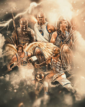 The Warriors as Greek Gods