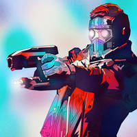 Star Lord, Fan Art by masaolab