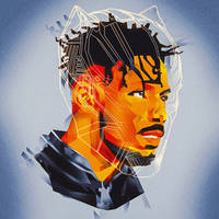 I'MA BURN IT ALL!  |  Killmonger Fan Art by masaolab