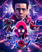 Freestyle, Spider-Man: Into the Spider-Verse by masaolab