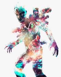 Freestyle, We are Groot by masaolab