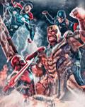 Thanos vs. The Trinity