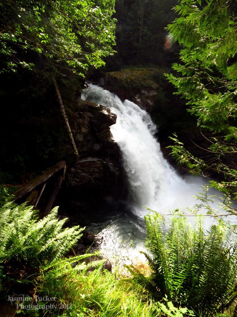 ..::North Fork Sauk Falls::.. by JasmineTuckerPhoto
