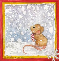 Snowing by Amarathimi