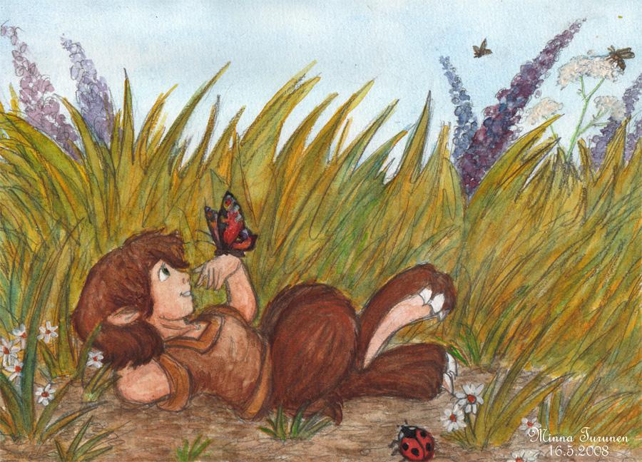 A Meadow by Amarathimi