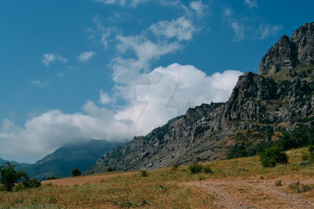 Photo nature  hill Crimea by justRomanova