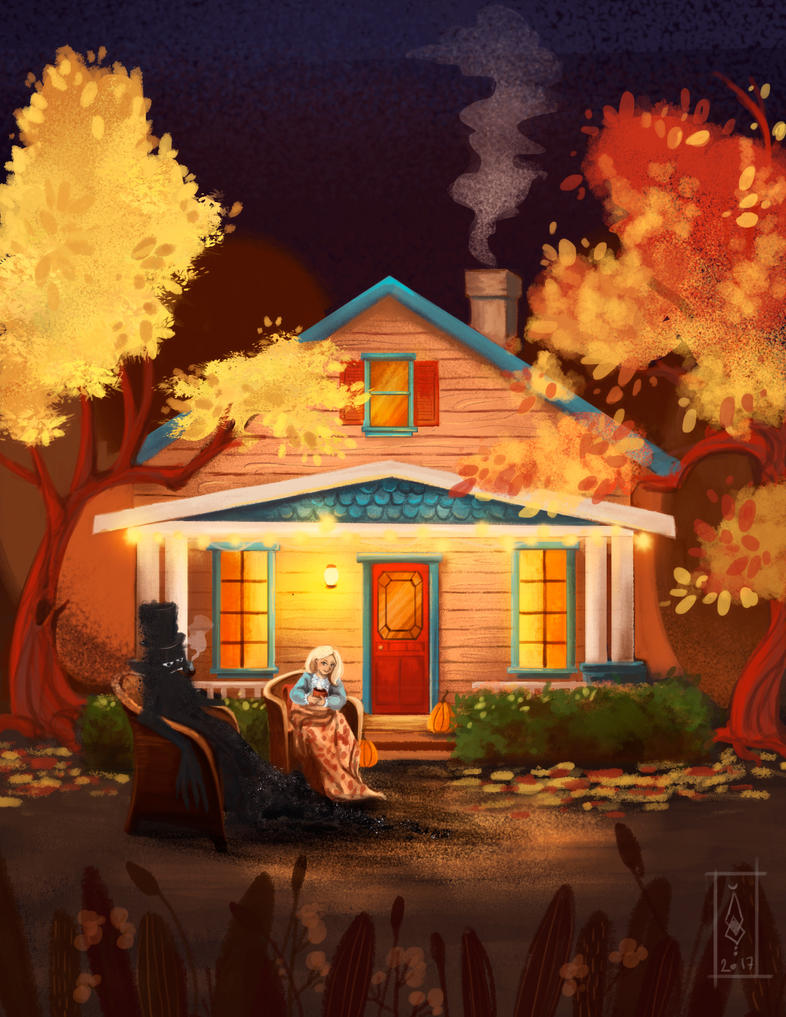 5 Autumn house by Dameo-in