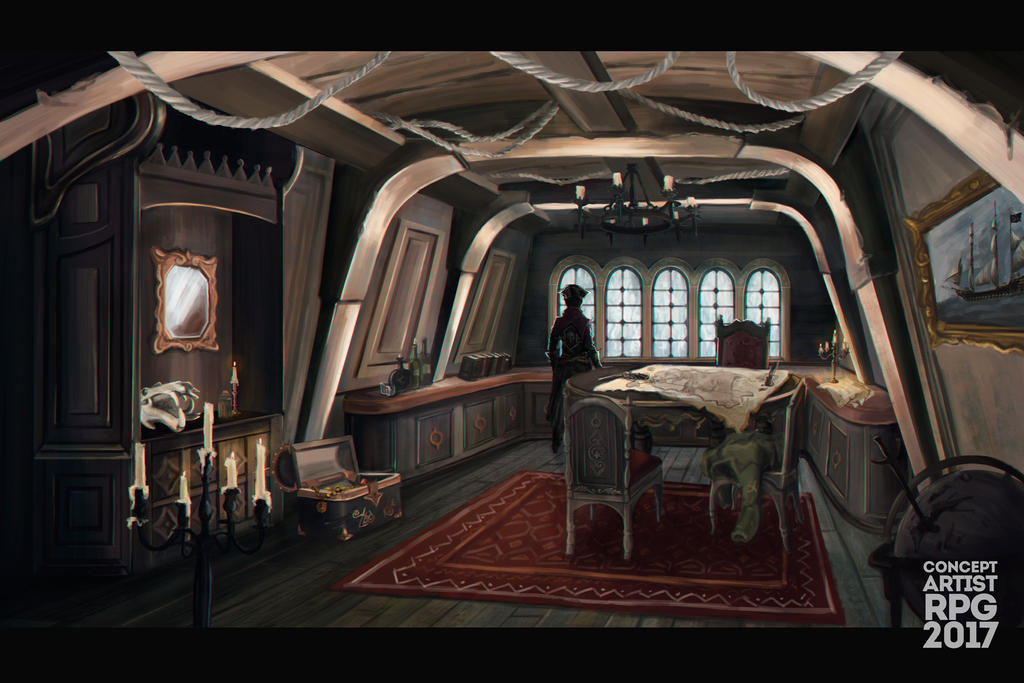 Captain`s room by Dameo-in
