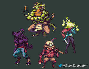 Rpg Monster Party