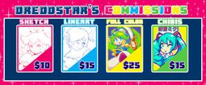 New commission Info