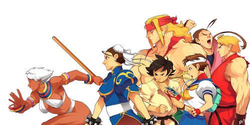 Street Fighter Walk