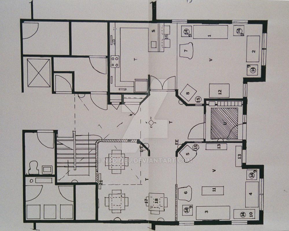 Interior Design 1 by nadineu