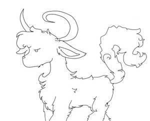 I drew a...goat?