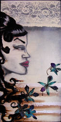 Orchids by vintage-serpent