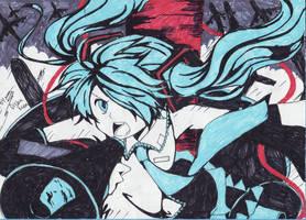 Hatsune Miku Love is war DX 2012 by YukinaHihara