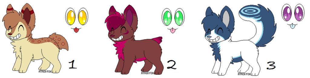 Adopt - Smiley Doggies by Ashkorya