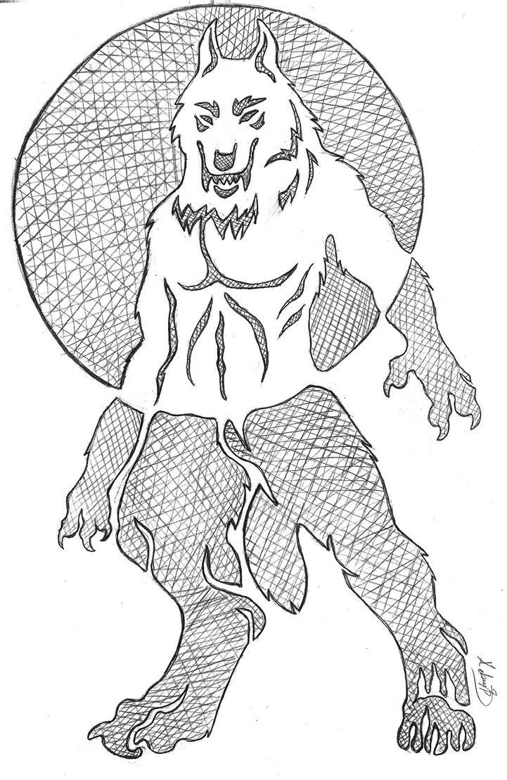 Werewolf Pumpkin Stencils Bigking Keywords And Pictures