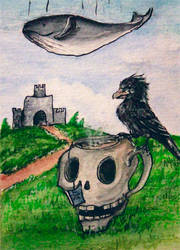 90 - ACEO / KAKAO - Teatime by malloth86