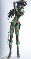 Kagome - For firevixen73 by SessInSunglasses