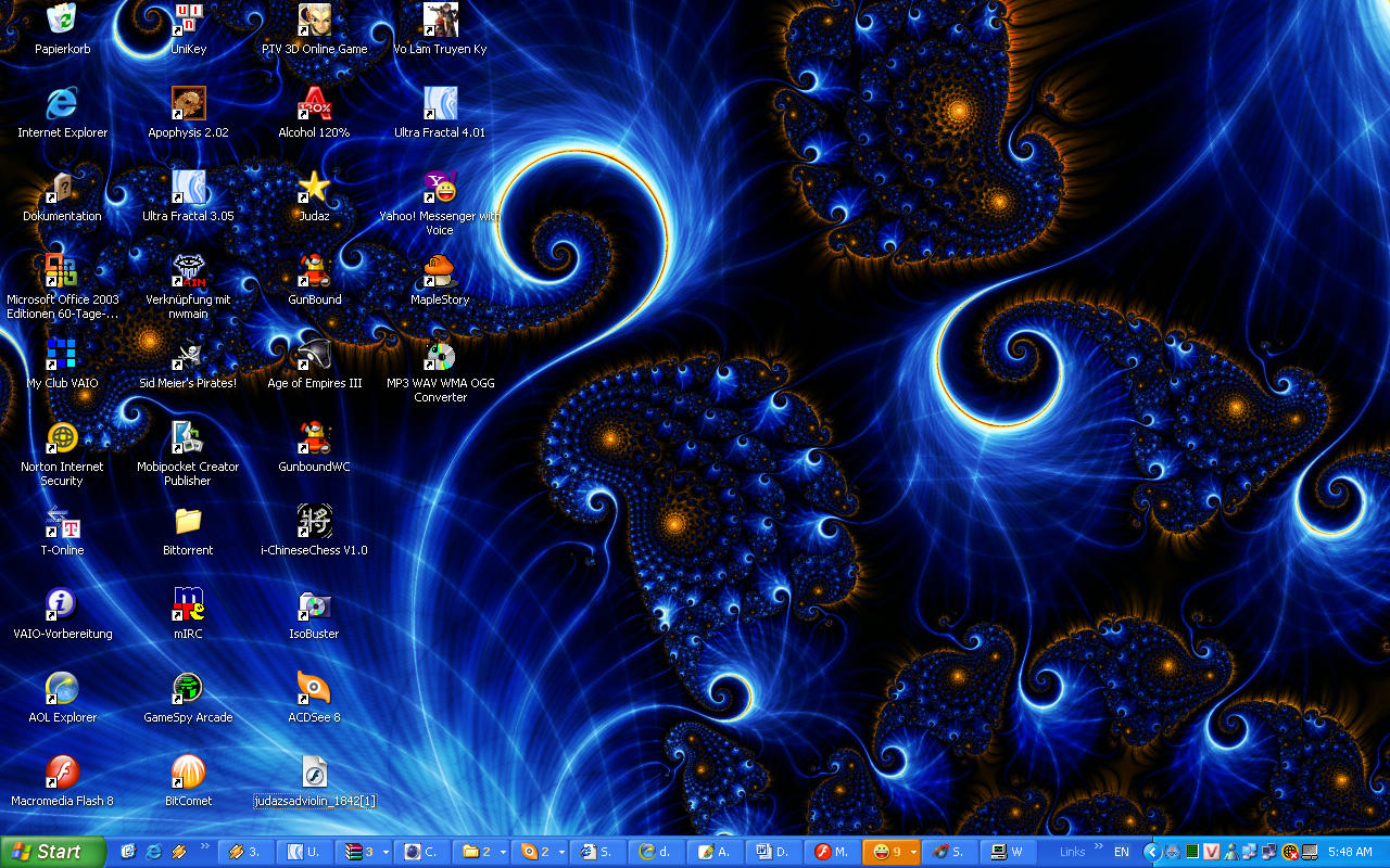 Fractal Desktop by judazfx