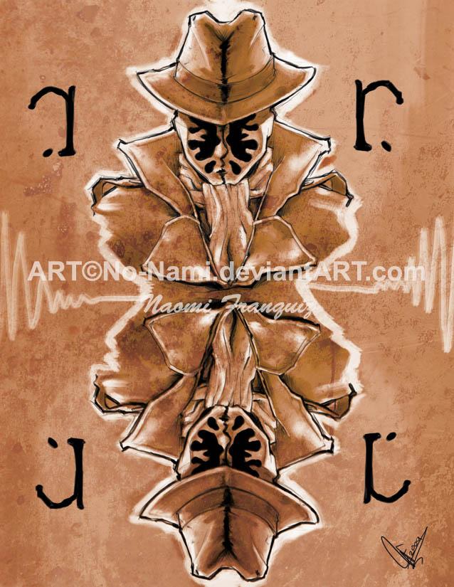 WATCHMEN: Rorschach by No-Nami