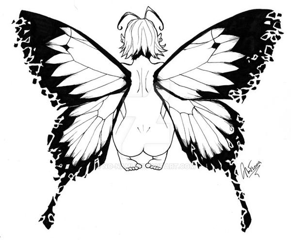 Com: Faerie Tattoo Design by No-Nami