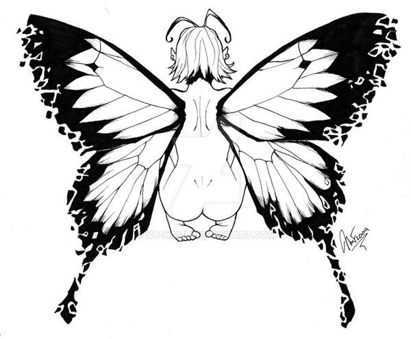 Com: Faerie Tattoo Design by No-Nami