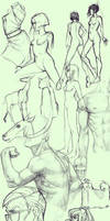 Sketch Dump by No-Nami