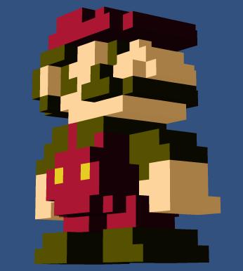 Пиксель-арт 3D