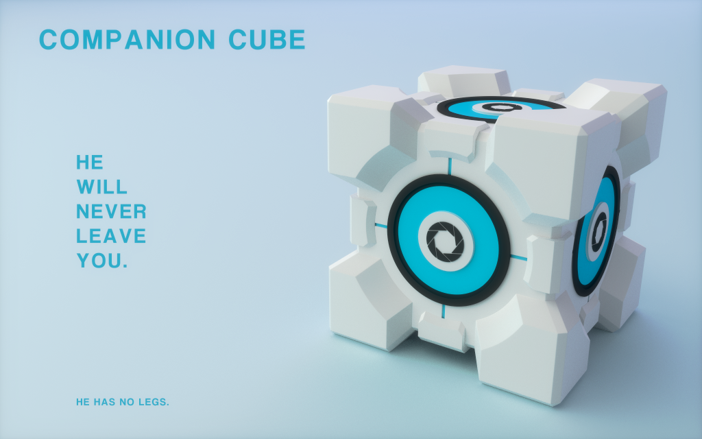 Aperture Science Weighted Storage Cube by Nineven ... & Aperture Science Weighted Storage Cube by Nineven on DeviantArt